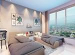 Apartamento en torre de venta en Cerro Hermoso, Santiago 40