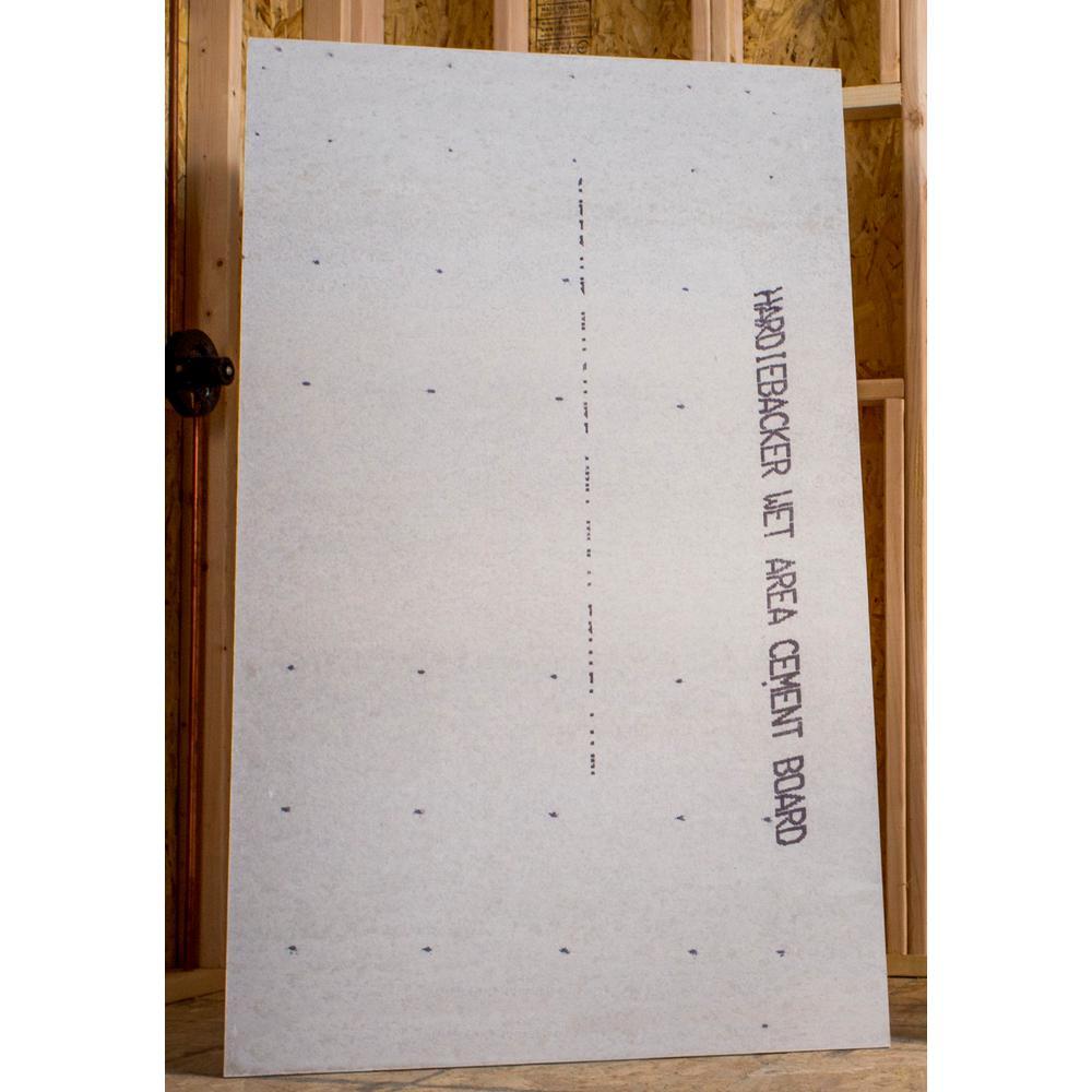 hardiebacker cement backerboard