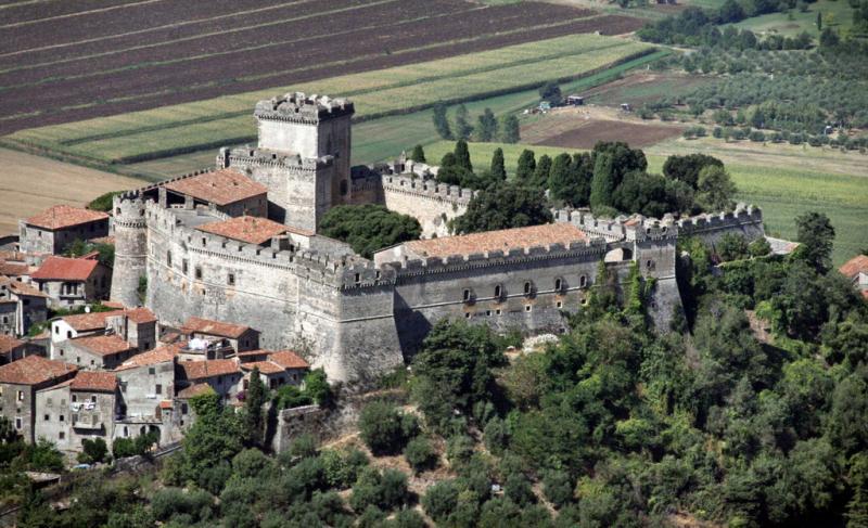 Castelli e Torri medievali in Lazio