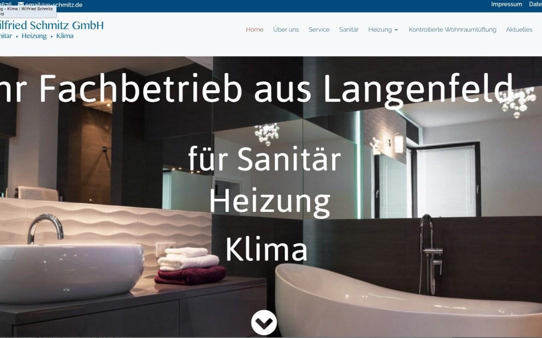 Wilfried Schmitz GmbH, Heizung/Sanitär/Klima