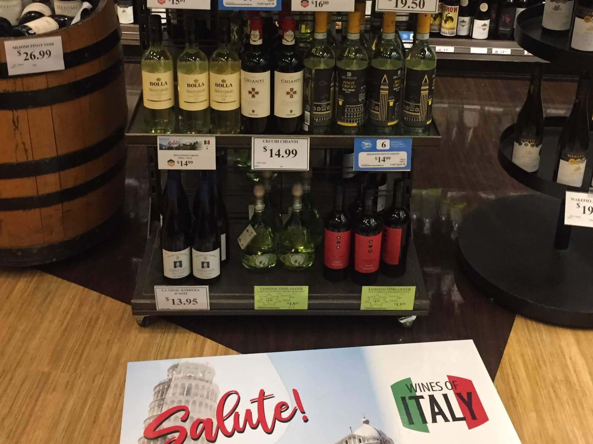 Emerging Wines Of Europe EU Chamber Of Commerce Wine Display