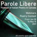 Italian Poetry Festivasl In Canada