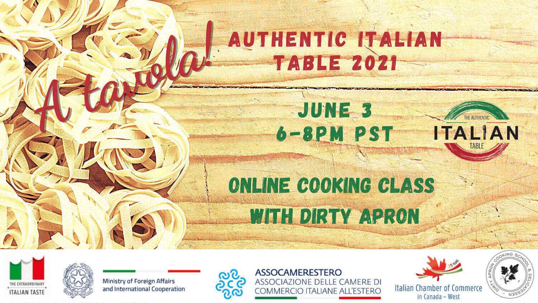 A Tavola Authentic Italian Table Banner