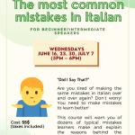 Common Italian Mistakes