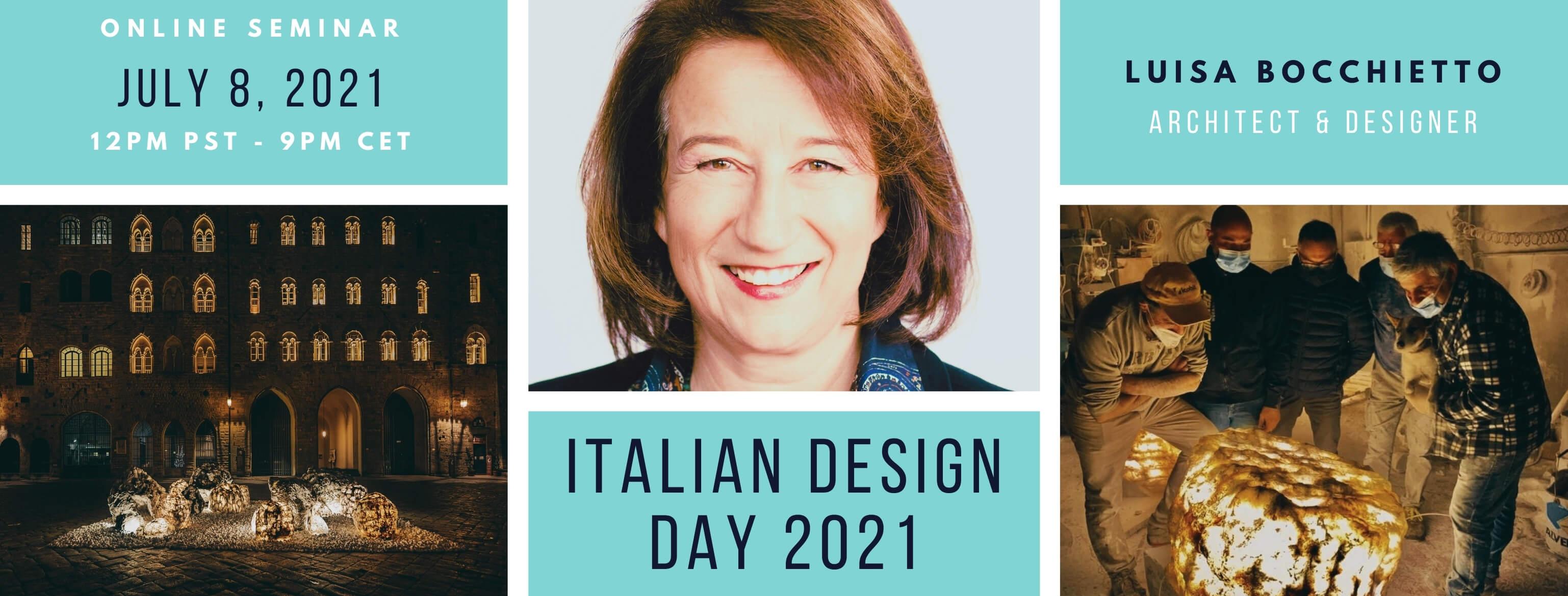 Italian Design Day 2021 Design Webinar Canada Italy
