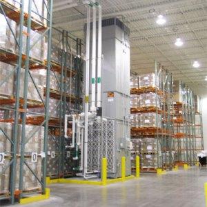 ICC Warehouse Air Rotators Pharmaceutical Warehouse