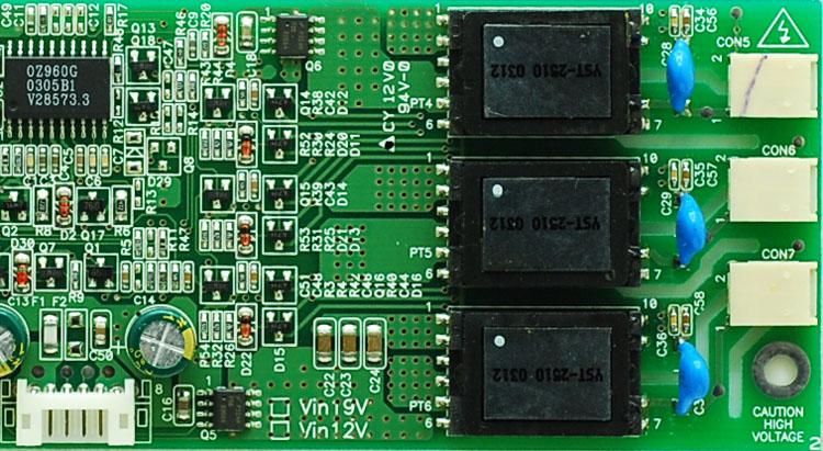 Inverter Circuit For Florescent Lamps