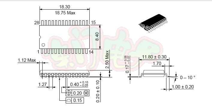 sop28 to dip28 with cover multi adapter sop28 to dip28
