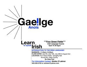 Irish Language Course