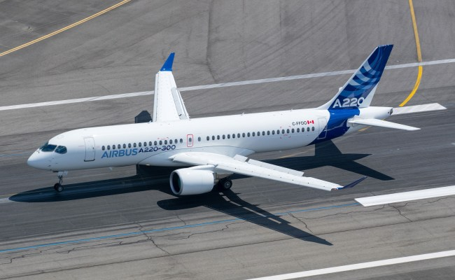 Commercial Aviation Airbus A220 300 Aircraft For Sale