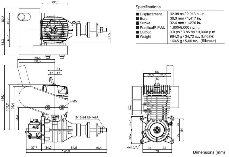 OS GT 33 benzin 38300
