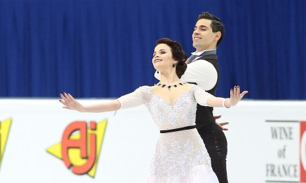 Three European Champions in Podium Position after Short Dance
