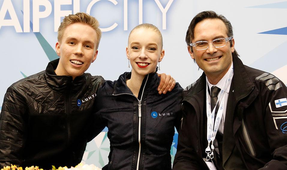 Profile – Monica Lindfors & Juho Pirinen