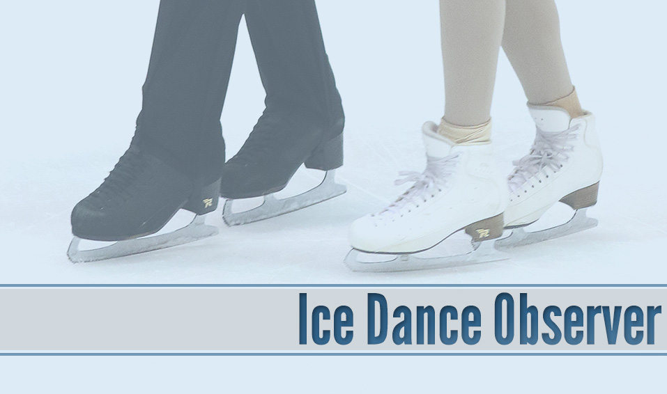 Ice Dance Observer: September 4, 2017