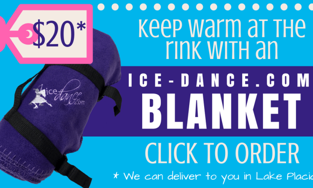 Grab an IDC blanket and stay warm at the rink!