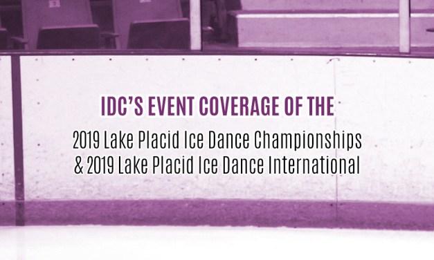 Coverage of 2019 Lake Placid IDC & IDI
