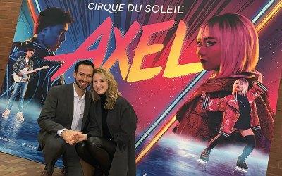 Katherine Hill & Ben Agosto Talk Cirque du Soleil and AXEL