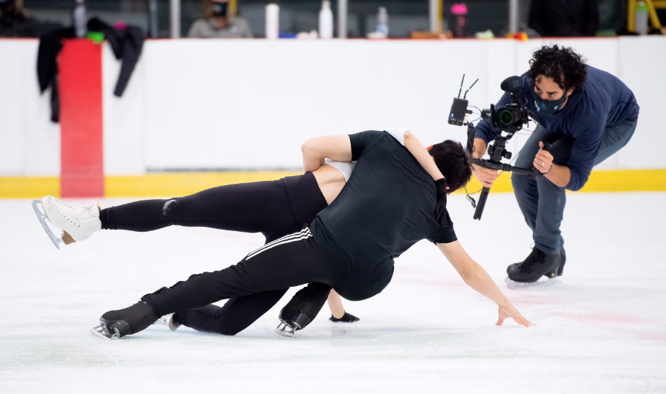 Jordan Cowan and his on-ice perspective