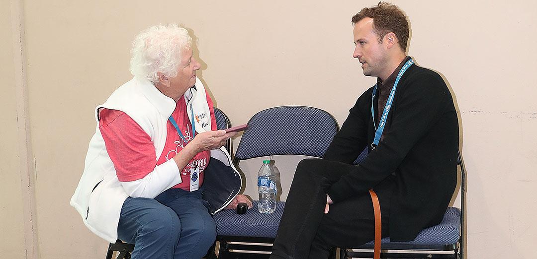 Anne Interviews Joel Dear