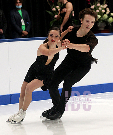 Isabella Flores & Dimitry Tsarevski