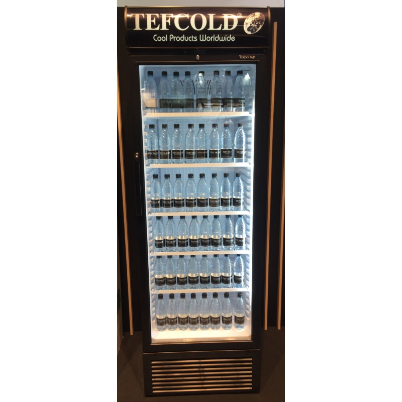Frigo vitrine pour la conservation des boissons avec porte vitre 380L