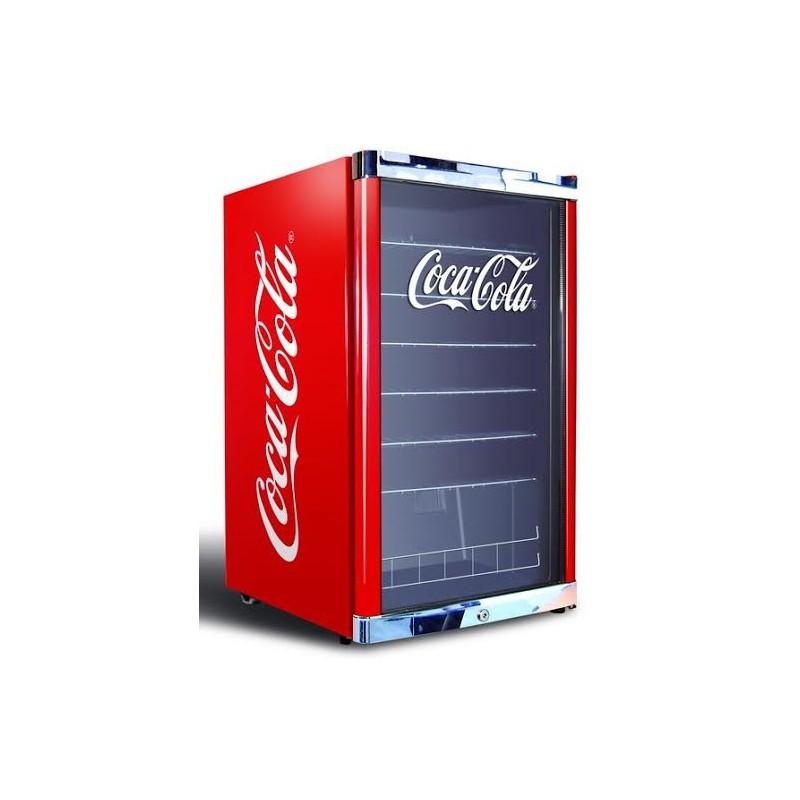 Petit Frigo Vitrine Coca Cola Boissons 115 L Rouge Coca