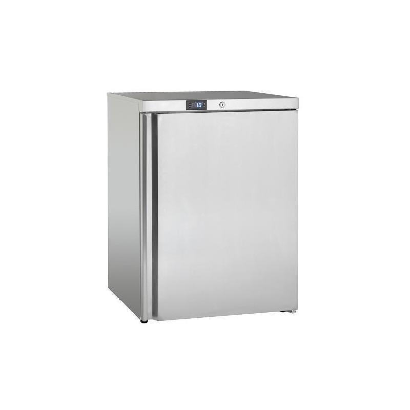 Petit frigo rfrigrateur en inox  poser capacit de 145 L