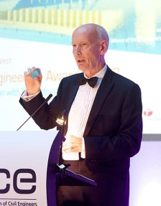 Ice president lord robert mair presents the south west awards also institution of civil engineers rh