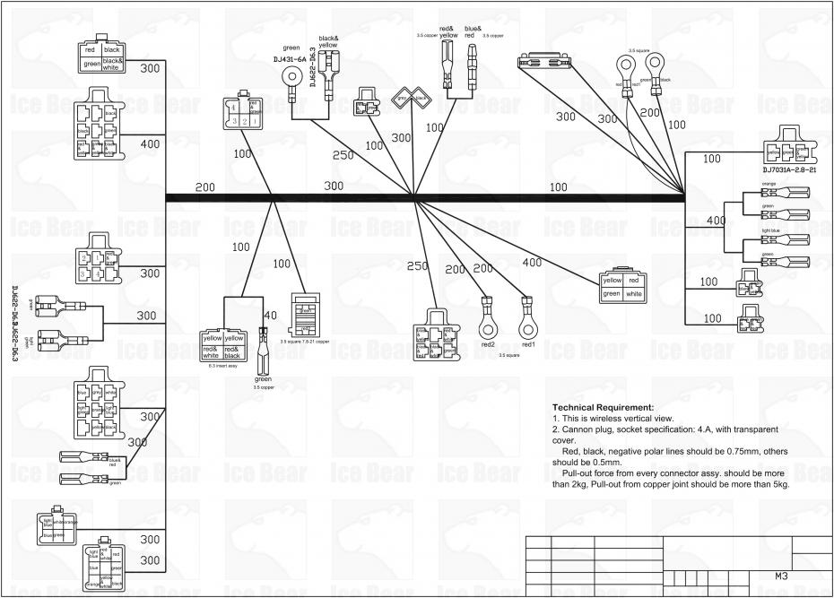 on electric 49cc scooter wiring harness diagram