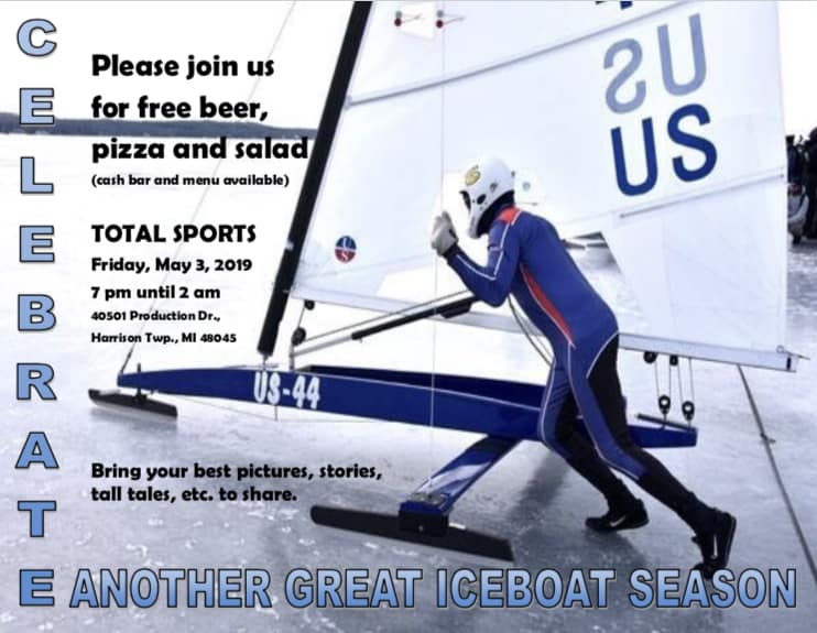 Iceboat  Party Friday, May 3