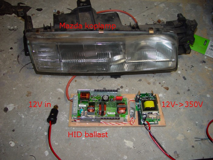 Hid Ballast Circuit Topology The Ballast Circuitry For An