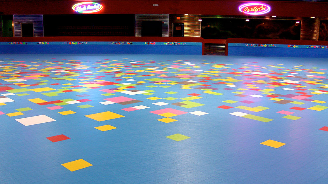 IceCourt  Roller Skating Rink Floors