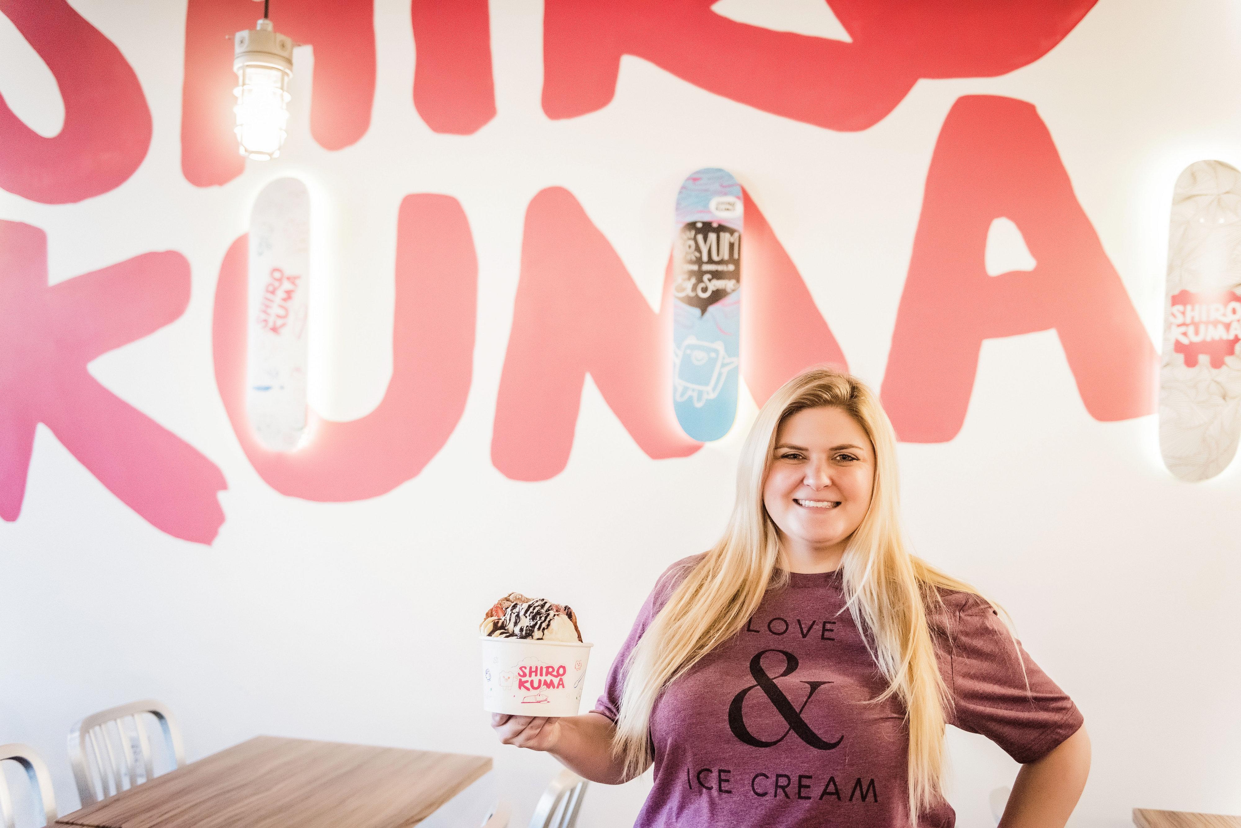 Shirokuma – Utah's First Snow Cream Shop
