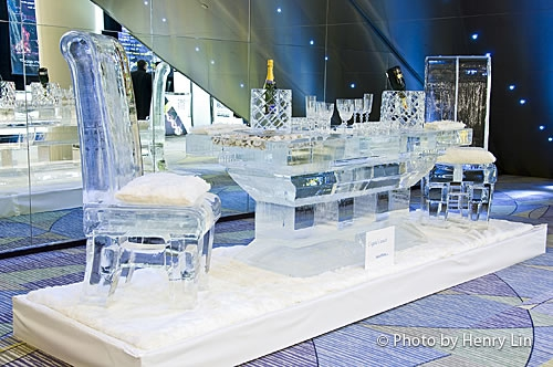chairs for table reupholster a chair with leather ice sculptures by iceculture • mobilegalleries