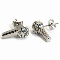 Iced Out Bling Earrings Box - MIC silver | Earrings | ICED ...