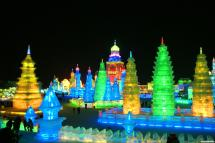 Snow and Ice Festival Harbin China