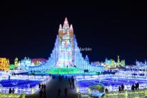 Harbin China Ice Festival Images