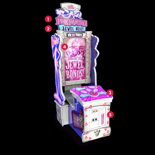 Arcade Game Pink Panther Jewel Heist