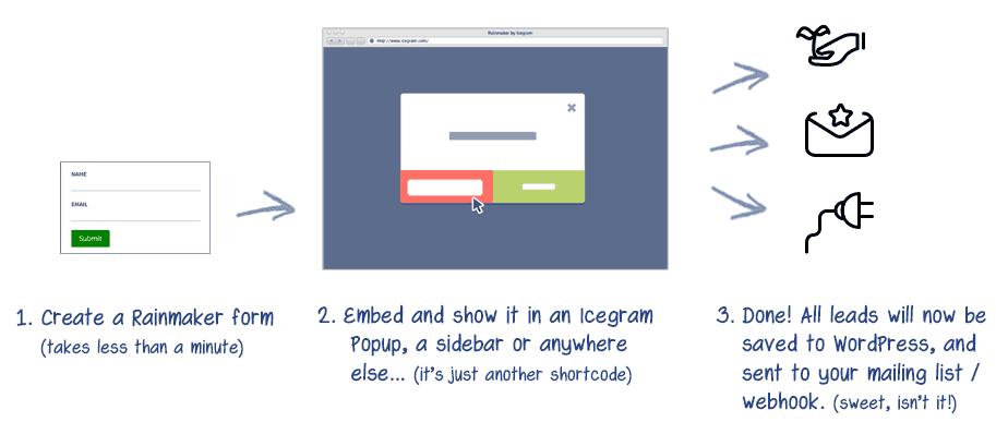 How does Rainmaker plugin work?