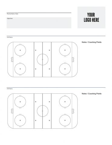 Custom ice hockey practice sheet also free downloads systems inc rh icehockeysystems