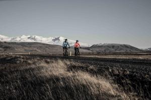 biking in iceland