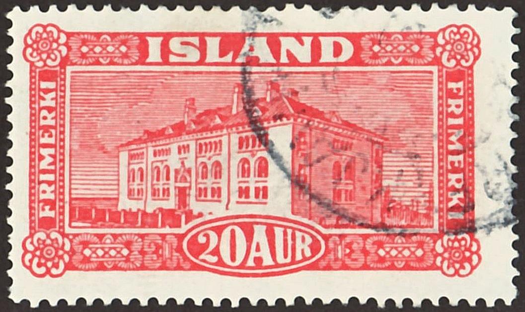 icelandic postage stamp publication