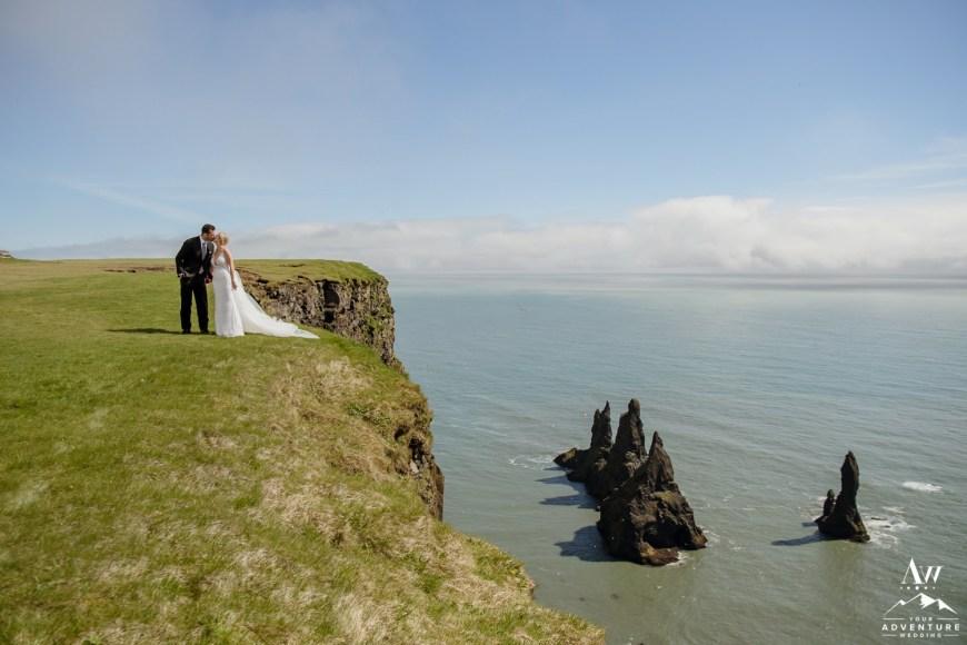 Iceland Volcano Wedding