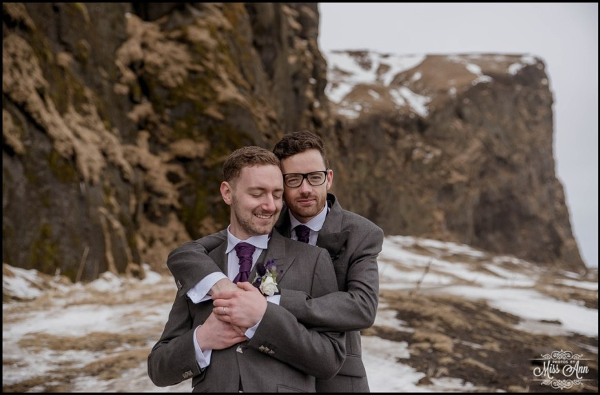 Iceland Same Sex Wedding Photographer