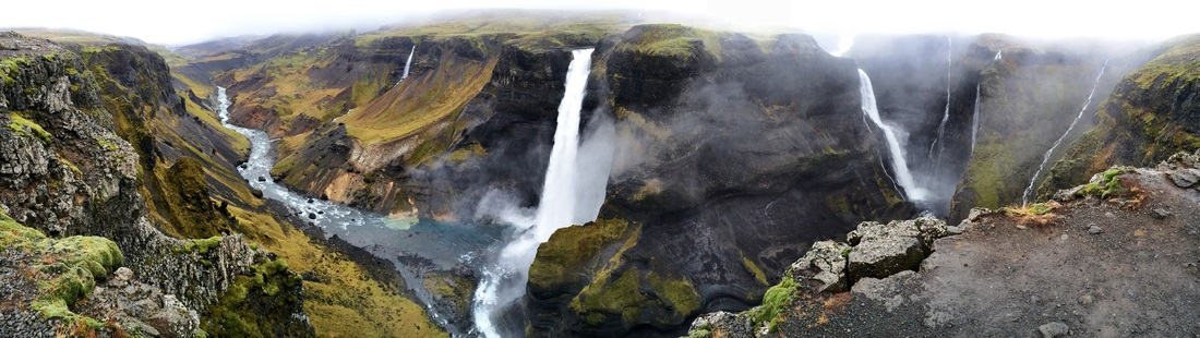 Háifoss waterfall in South Iceland | Life With a View