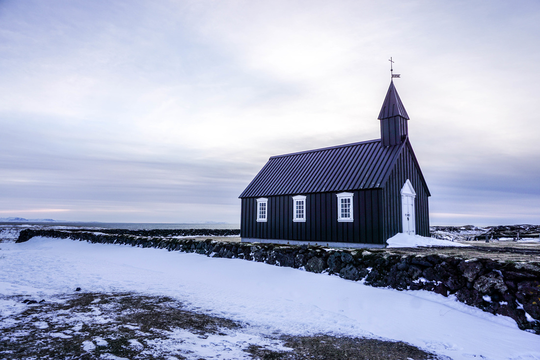 Budir church in Snaefellsness - West Iceland | Life With a View