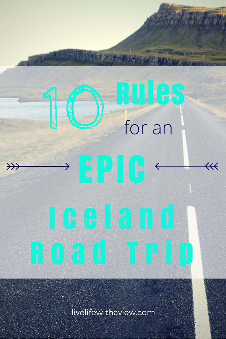 Are you planning a road trip in Iceland? Wondering what the do's and don't of a road trip are? Here are 10 things that will make your trip epic! | www.icelandwithaview.com
