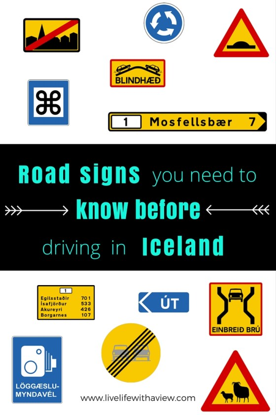 Planning a road trip in Iceland and wondering what the signs mean? | Life With a View www.icelandwithaview.com