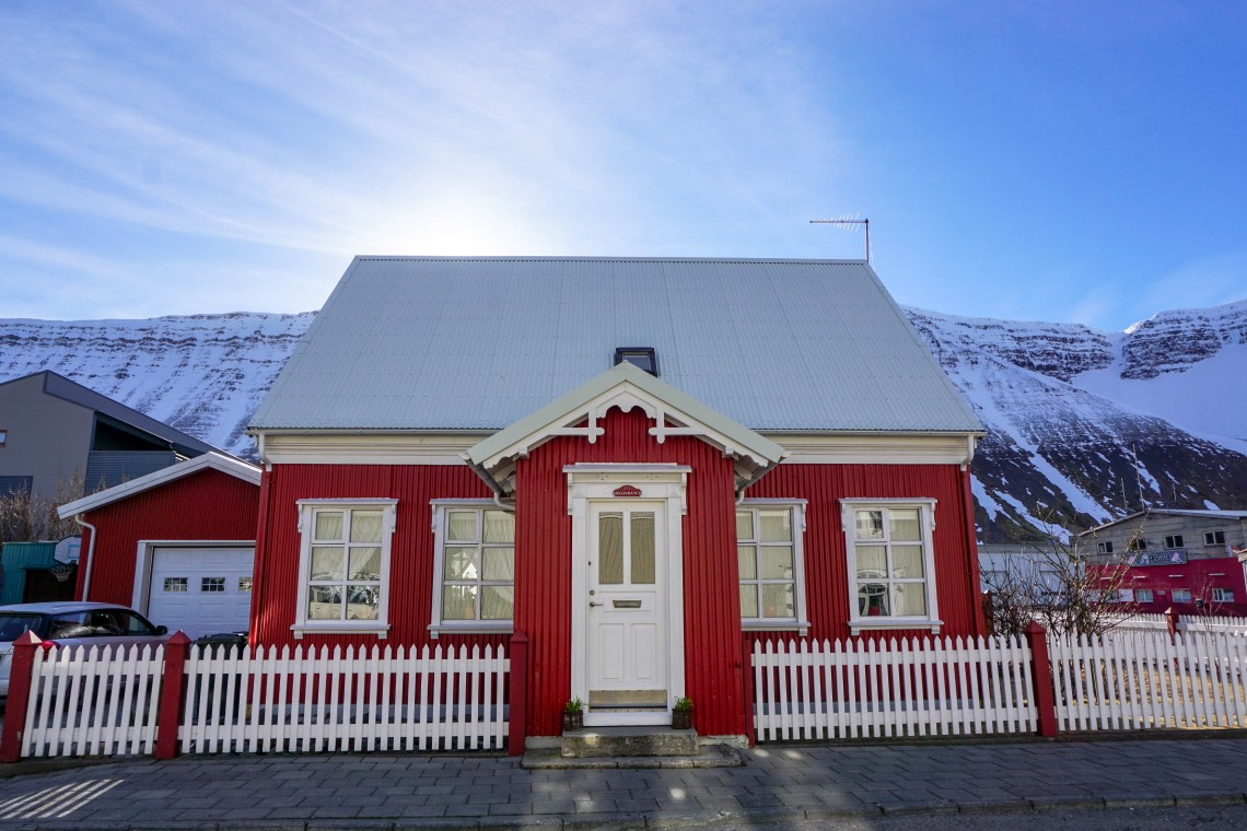 The picturesque town of Isafjordur in the Westfjords of Iceland - click for video! | Life With a View