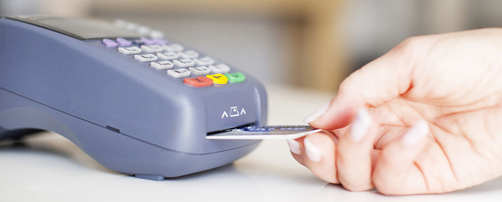 In Iceland it's most common to use chip-pin number payment.